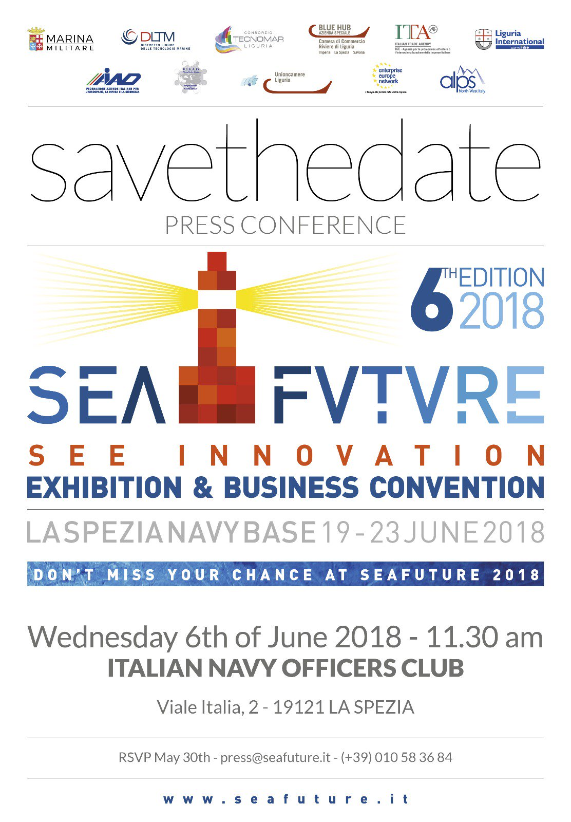 save the date seafuture 2018 spezia