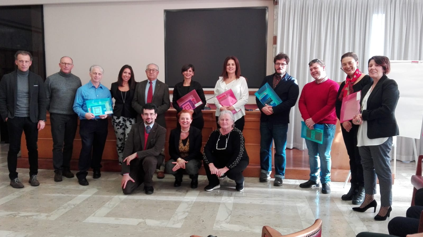 foto premiati hackathon on line sp 24 11 2018