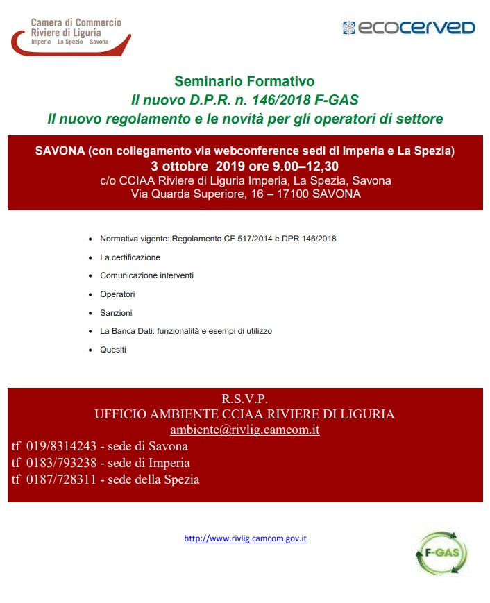 programma locandina gas 3 ottobre 2019 cciaarivlig