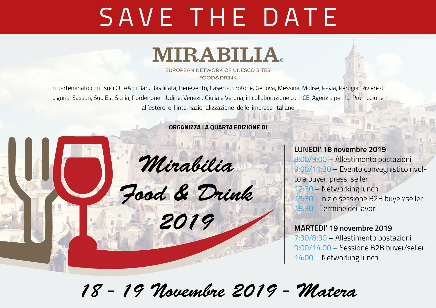 mirabilia evento novembre 2019