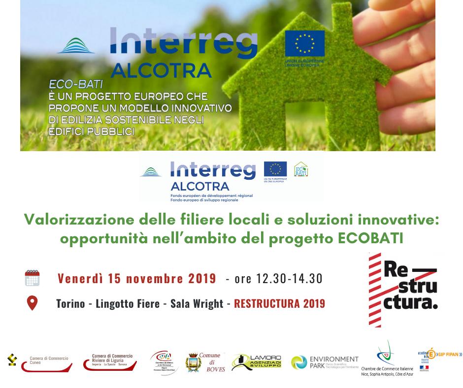 ecobati alcotra torino seminario edilizia restructura 15 11 2019