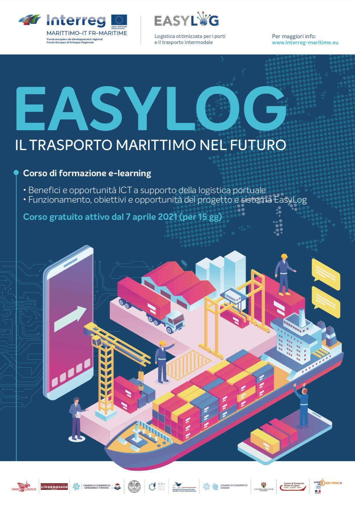 easylog formazione aprile 2021