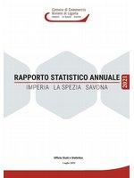 copertina Rapporto statistico annuale